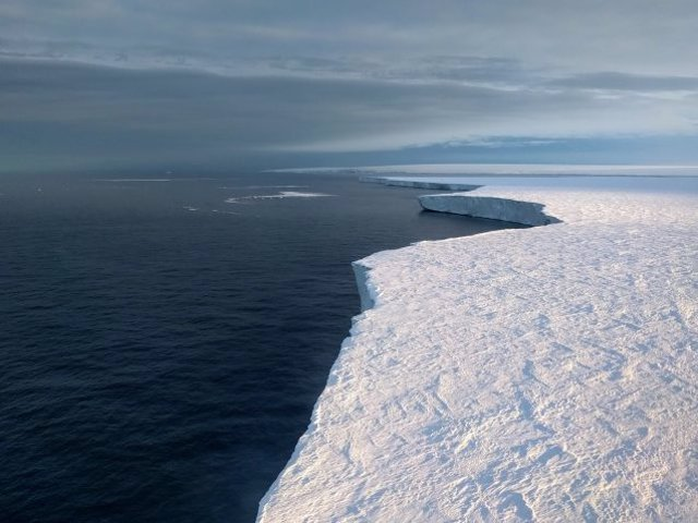 El derretimiento de icebergs lejos de las costas de la Antártida se considera un desencadente de las edades de hielo