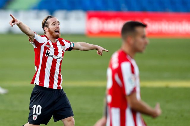 Iker Muniain en un partido del Athletic
