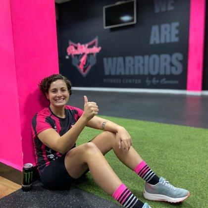 """Ana Carrasco está """"casi"""" recuperada y podría volver a pilotar en un mes"""