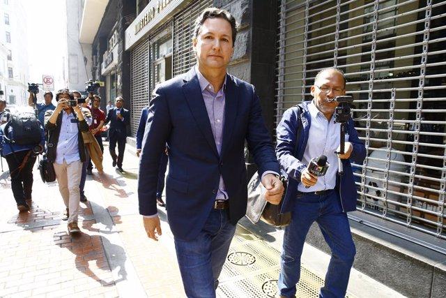 El candidato a la Presidencia de Perú, Daniel Salaverry.