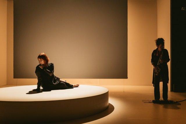 Imatge de l'espectacle 'Una', creat per Raquel Cors i Dani Lacasa, i que estarà present en el Lessingtage 2021 digital: Stories from Europe.