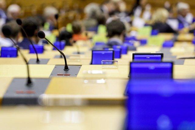 Imagen de archivo de la Eurocámara.