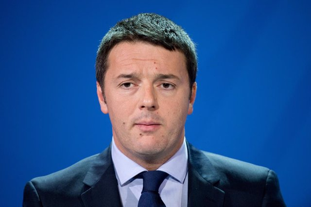 FILED - 17 March 2014, Berlin: Matteo Renzi, then Italian Prime Minister, takes part in a press conference on the topics of the previous German-Italian government consultations. Renzi talked openly on Monday of a possible government crisis in Italy, in a