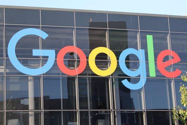 Imagen de archivo del logo de Google.