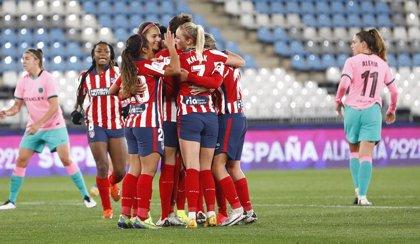El Atlético somete al Barça en los penaltis para jugar la final de la Supercopa Femenina