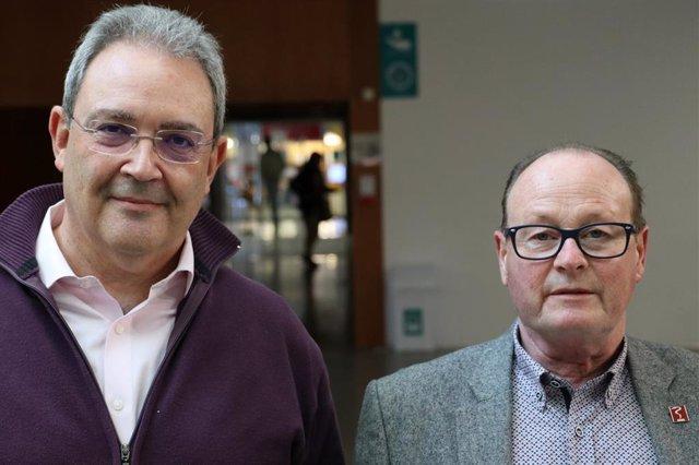 Los cirujanos Jordi Cruz y Xavier Lleonart, elegidos presidente y secretario general de Metges de Catalunya al ganar las elecciones a la dirección del sindicato con un 63% de los votos.