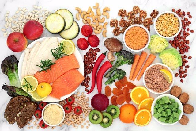 Dieta baja en carbohidratos.