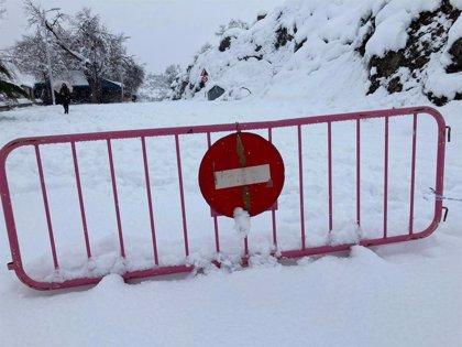 Los incidentes por hielo y nieve en C-LM ascienden a 11 en las primeras horas de este jueves