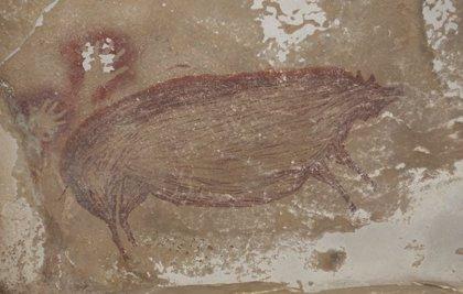 Descubierta en Indonesia una pintura rupestre de hace 45.000 años
