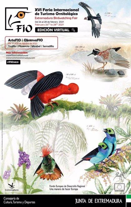 La Feria Internacional de Ornitología celebrará su 16 edición en formato digital del 26 al 28 de febrero