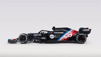 Fórmula 1.- Alpine nombra A521 al nuevo coche que pilotará Fernando Alonso