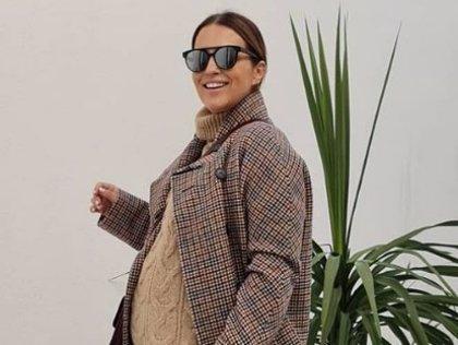 Paula Echevarría tiene el jersey ideal para esta ola de frío... ¡disponible y por sólo 25.99 euros!