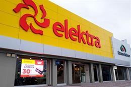 La mexicana Elektra gana un 97% menos hasta marzo pese a incrementar su facturación en un 15%