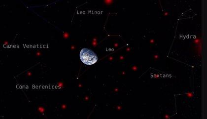 Un mapa localiza 525 enanas marrones en el vecindario del Sol