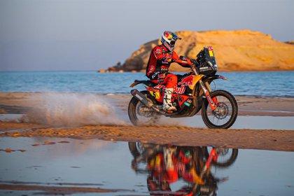 AV.- Rally/Dakar.- Sunderland gana la penúltima etapa, Bernavides refuerza su liderato y Barreda abandona