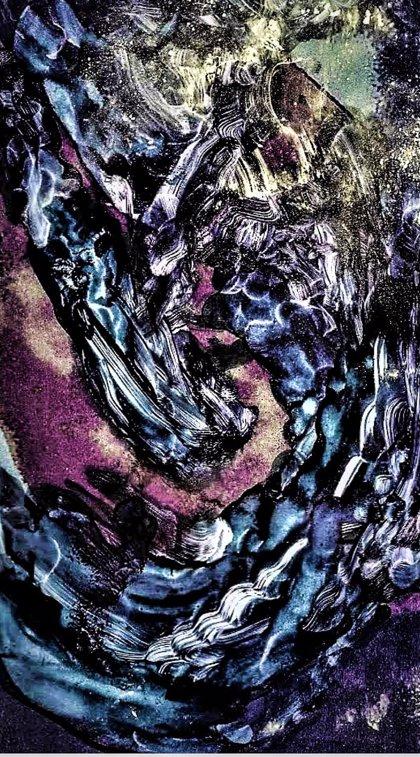 Miguel Rivera transita desde la pintura convencional al láser y  digital en una muestra en el Ateneo Mercantil