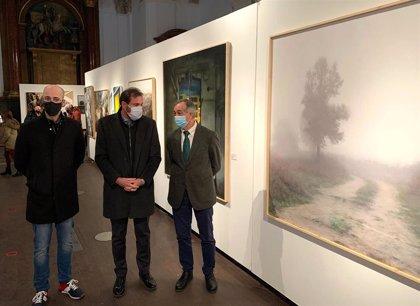 La niebla protagoniza la jornada en Valladolid y también la pintura ganadora del XXI Certamen de ACOR