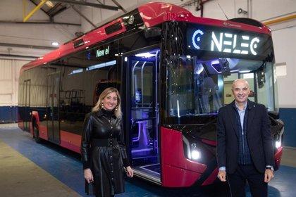 La española Castrosua fabricará un autobús eléctrico sobre un chasis de Scania