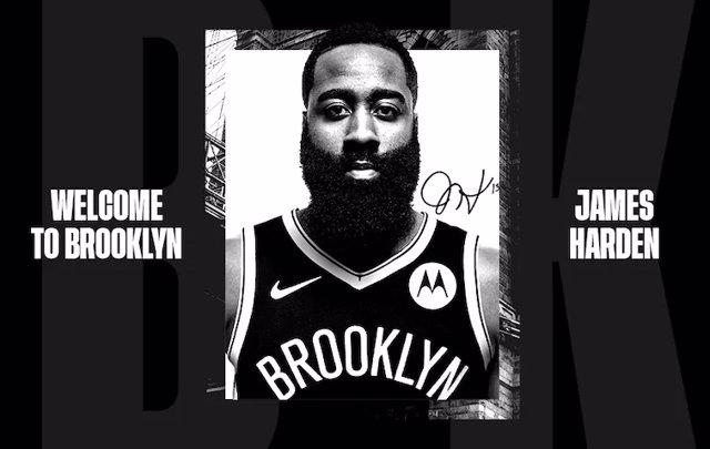 James Harden ficha por Brooklyn Nets