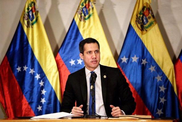 El presidente de la Asamblea Nacional de Venezuela y líder opositor Juan Guaidó