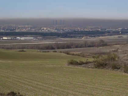 Aumenta la contaminación en Madrid por la inversión térmica y el anticiclón
