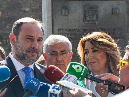 Ábalos se reúne con Susana Díaz en Sevilla tres días después de fijarse el calendario congresual del PSOE