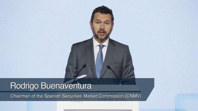 El presidente de la CNMV, Rodrigo Buenaventura, en 'Spain Investor Day'.