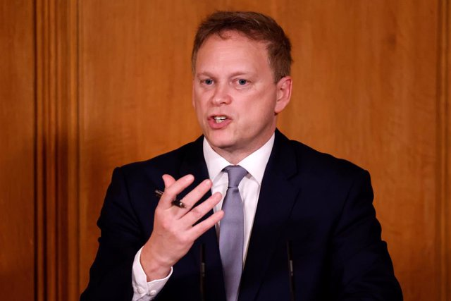 21 December 2020, England, London: UK Transport Secretary Grant Shapps speaks during Prime Minister Boris Johnson's press conference in response to the ongoing situation with the coronavirus (Covid-19) pandemic at 10 Downing Street. Photo: Tolga Akmen/PA