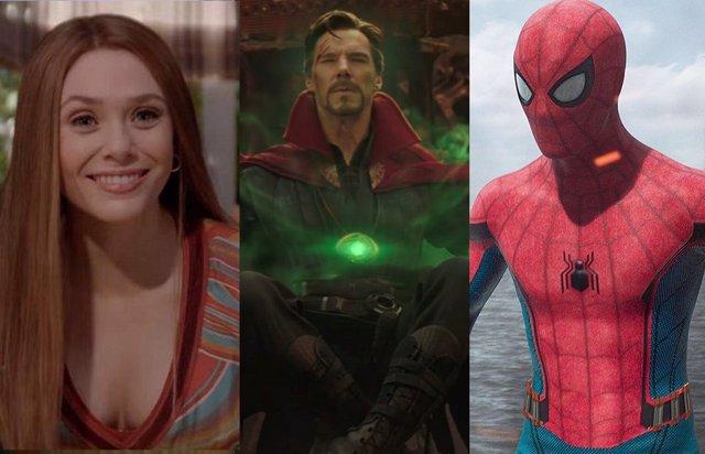 Bruja Escarlata y Vision, el inicio de la 'Trilogía de la Locura' de Marvel que completarán Spider-Man 3 y Doctor Extraño 2