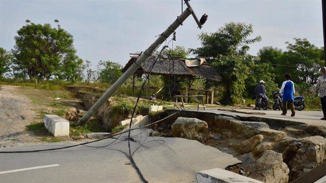 Imagen de archivo de un terremoto en Sulawesi, en Indonesia.