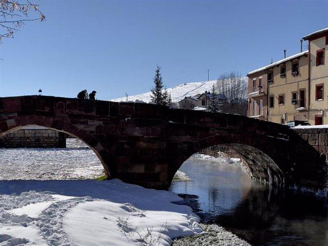 Molina de Aragón, una vez más la ciudad que amanece con el mercurio más frío