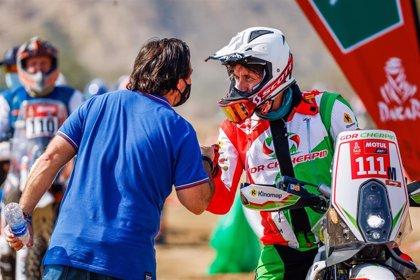 Fallece el piloto francés Pierre Cherpin tras su caída en la séptima etapa del Dakar