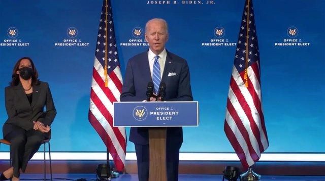 Joe Biden y Kamala Harris.