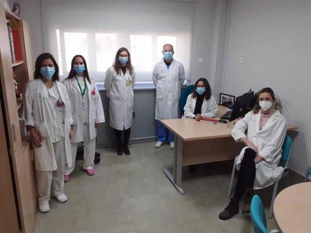 Equipo de investigación del ensayo clínico