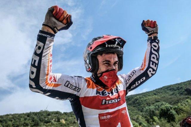El piloto de trial Toni Bou (Repsol Honda Team), ganador de 28 títulos mundiales, en 2020