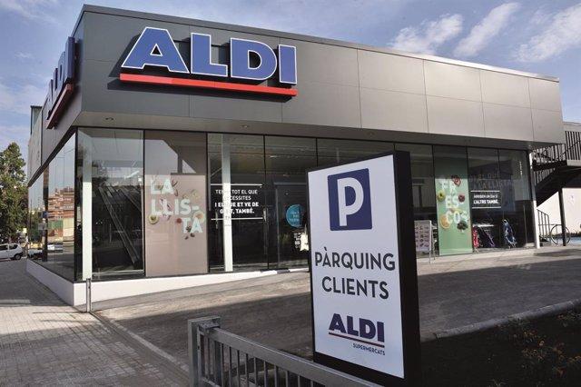 Una nova botiga d'Aldi a Sabadell