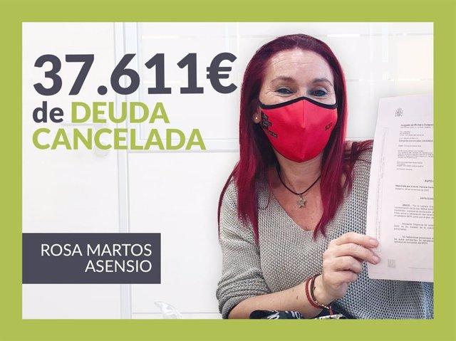 Rosa Martos, cancela sus deudas con 12 bancos gracias a Repara tu deuda