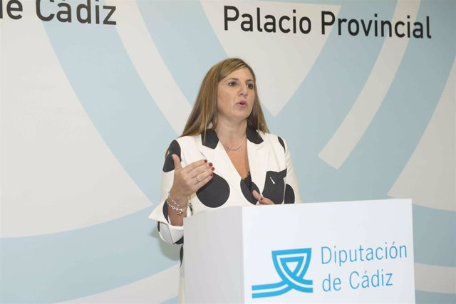 Irene García, secretaria provincial del PSOE y presidenta de la Diputación de Cádiz