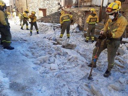 El alcalde de Tineo pide más colaboración de Administraciones ante el temporal y la actuación de la BRIF en el concejo