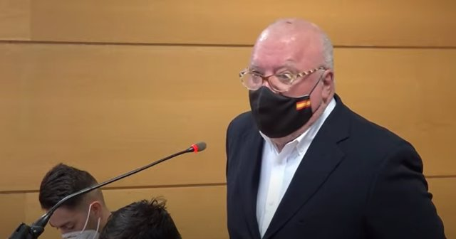 Juicio contra el comisario jubilado y en prisión provisional José Manuel Villarejo por presuntos delitos de calumnias y denuncia falsa contra el ex director del Centro Nacional de Inteligencia (CNI) Félix Sanz Roldán.