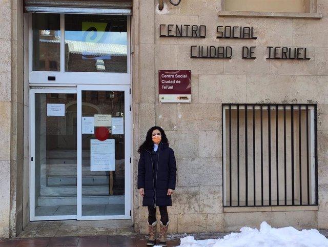 La concejal de Servicios Sociales del Consistorio turolense, Nuria Tregón