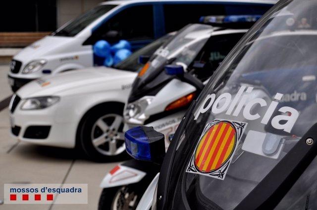Vehículos de los Mossos d'Esquadra (ARCHIVO)