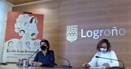 'La vida de las luciérnagas', un proyecto literario con el que Logroño quiere visibilizar a 13 mujeres referentes
