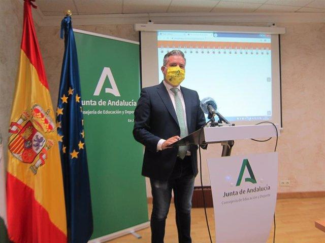 El delegado de Educación y Deporte en Jaén, Antonio Sutil/ Archivo