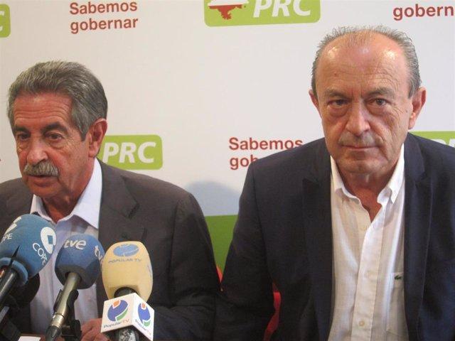 Miguel Ángel Revilla y Javier López Marcano
