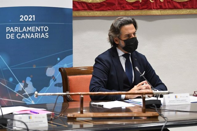 El presidente de la Calre, Gustavo Matos, en la apertura de la Asamblea Plenaria