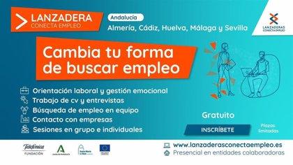 Andalucía contará con cinco nuevas lanzaderas de empleo a partir de marzo, programa gratuito de orientación laboral