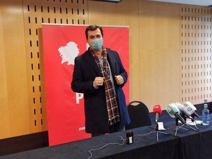 """G. Caballero asegura que la planificación económica de la Xunta para 2021 """"se vino abajo"""" y llama a """"dialogar"""""""
