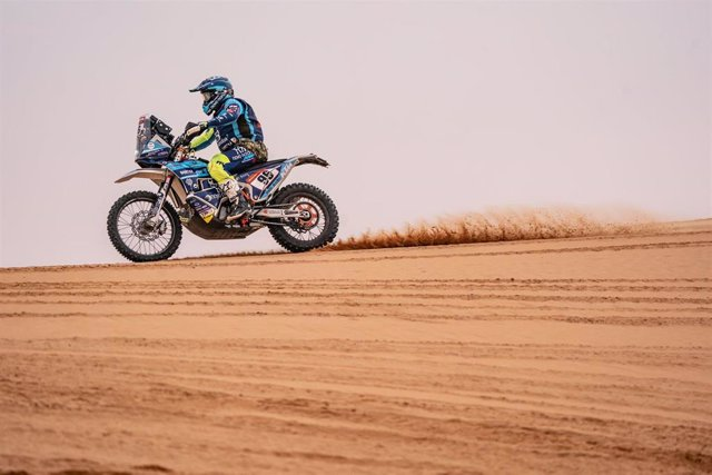 Daniel Albero en el Rally Dakar.