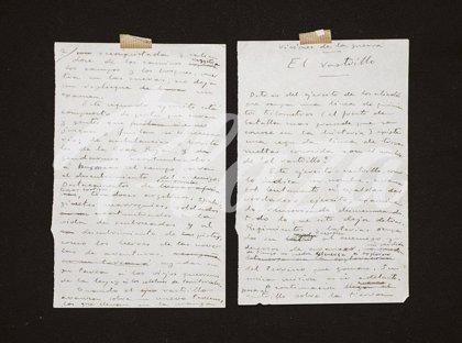 """Familiares de un coleccionista valenciano recuperan un legado con 125 documentos """"inéditos"""" de Blasco Ibáñez"""